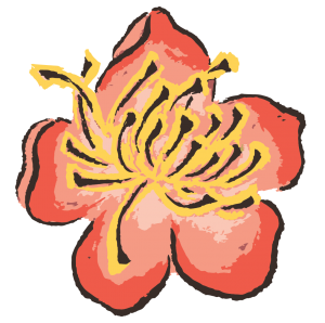 Johanna's Boulder Acupuncture Flower Favicon
